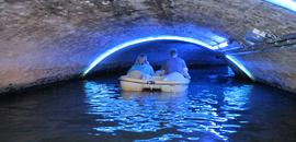 Wyprawa rowerem wodnym w świat podziemnych kanałów fabrycznych